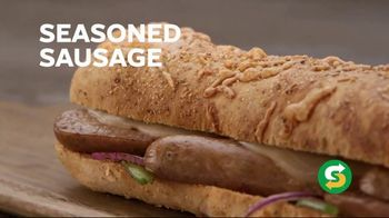 Subway Italian Sausage Primo TV Spot, 'Don't Just Eat' - Thumbnail 4