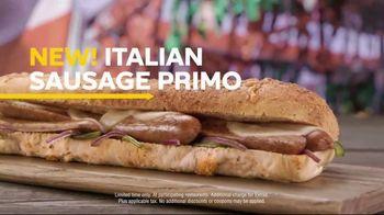 Subway Italian Sausage Primo TV Spot, 'Don't Just Eat' - Thumbnail 7