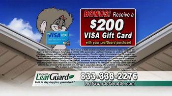 LeafGuard of Seattle 99 Cent Install Sale TV Spot, 'Rain, Sleet, Ice or Snow' - Thumbnail 8