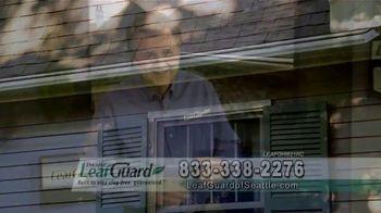LeafGuard of Seattle 99 Cent Install Sale TV Spot, 'Rain, Sleet, Ice or Snow'