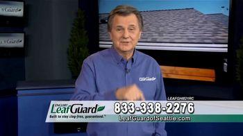 LeafGuard of Seattle 99 Cent Install Sale TV Spot, 'Rain, Sleet, Ice or Snow' - Thumbnail 3