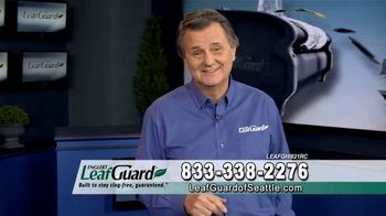 LeafGuard of Seattle 99 Cent Install Sale TV Spot, 'Rain, Sleet, Ice or Snow' - 3 commercial airings