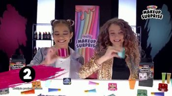 Rainbow Surprise Makeup Surprise TV Spot, 'Make Slime With Makeup' - Thumbnail 4