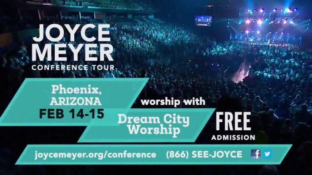 Joyce Meyer Ministries Conference Tour TV Commercial, '2020 Phoenix and Austin: H-E-B Center'