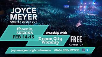 Joyce Meyer Ministries Conference Tour TV Spot, '2020 Phoenix and Austin: H-E-B Center'