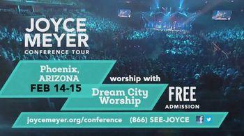 Joyce Meyer Ministries Conference Tour TV Spot, '2020 Phoenix and Austin: H-E-B Center' - Thumbnail 5