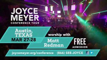 Joyce Meyer Ministries Conference Tour TV Spot, '2020 Phoenix and Austin: H-E-B Center' - Thumbnail 6