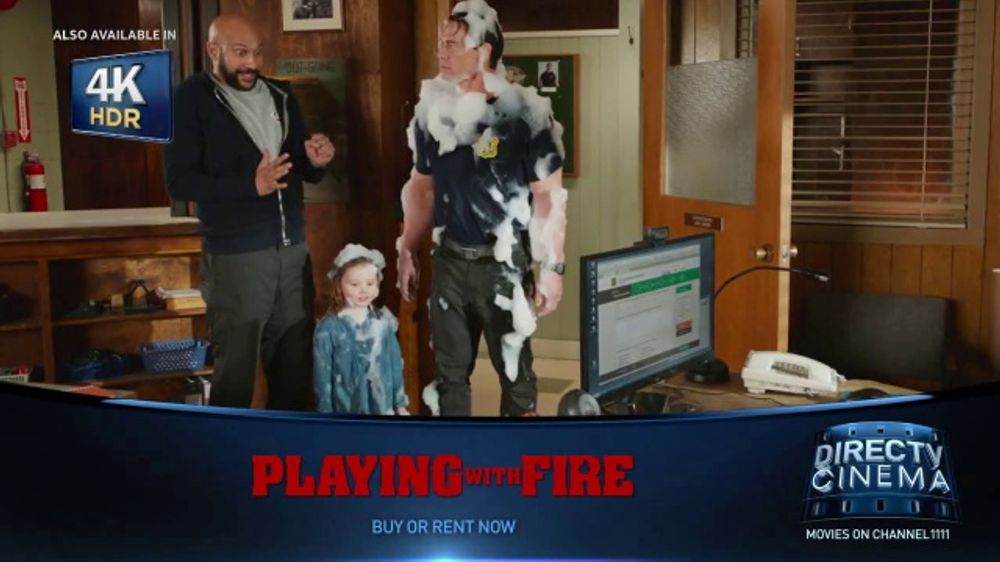 DIRECTV Cinema TV Commercial, 'Playing With Fire'