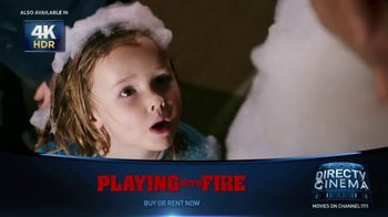 DIRECTV Cinema TV Spot, 'Playing With Fire' - Thumbnail 6