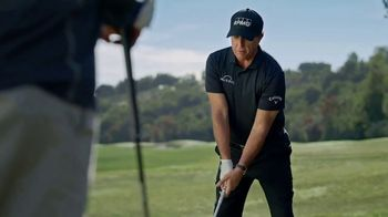 Callaway Mavrik TV Spot, 'Made Using Artificial Intelligence' Featuring Phil Mickelson - Thumbnail 6