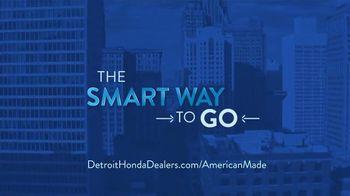 Honda TV Spot, 'The People of Detroit: Sedans' [T2] - Thumbnail 8