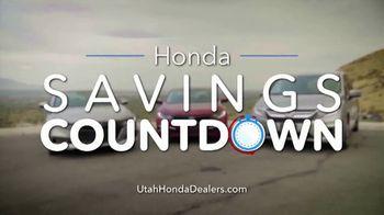 Honda Savings Countdown TV Spot, 'Get More, Save More' [T2] - Thumbnail 1