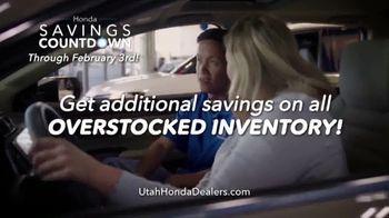 Honda Savings Countdown TV Spot, 'Get More, Save More' [T2] - Thumbnail 4