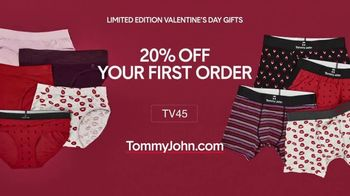 Tommy John TV Spot, 'Valentine's Day: Guaranteed Delivery'