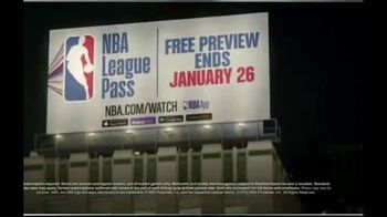 NBA League Pass TV Spot, 'Shout It: Free Preview' - Thumbnail 6