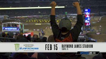 AMA Supercross TV Spot, '2020 Tampa: Raymond James Stadium'