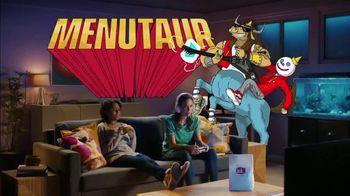 Jack in the Box Fish Sandwich Combo TV Spot, 'Menutaur: Living Room' - Thumbnail 3