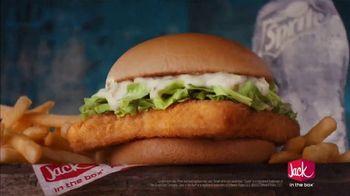 Jack in the Box Fish Sandwich Combo TV Spot, 'Menutaur: Living Room' - Thumbnail 8