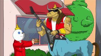Jack in the Box Fish Sandwich Combo TV Spot, 'Menutaur: Blown Away' - Thumbnail 3