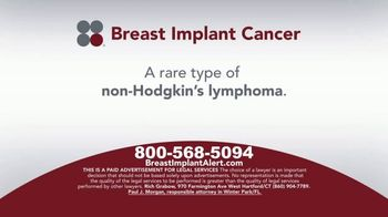 Sokolove Law TV Spot, 'Breast Implant Cancer' - Thumbnail 3