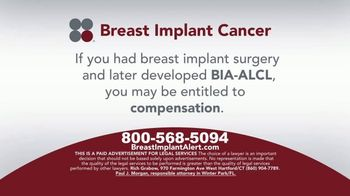Sokolove Law TV Spot, 'Breast Implant Cancer' - Thumbnail 4