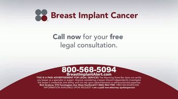 Sokolove Law TV Spot, 'Breast Implant Cancer'