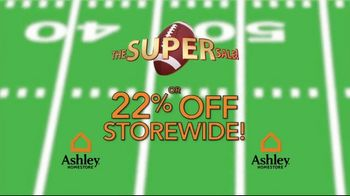 Ashley HomeStore The Super Sale! TV Spot, 'Going on Now' - Thumbnail 6