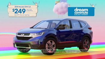 Honda Dream Commute Sales Event TV Spot, 'Make Every Drive a Dream' Song by The Koi Boys [T2] - Thumbnail 6