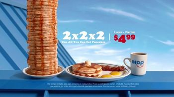 IHOP All You Can Eat Pancakes TV Spot, 'Combinaciones' [Spanish] - Thumbnail 4