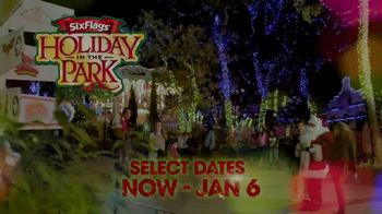 Six Flags Holiday in the Park TV Spot, 'Select Dates Extended' - Thumbnail 1