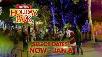 Six Flags Holiday in the Park TV Spot, 'Select Dates Extended' - Thumbnail 2