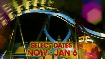 Six Flags Holiday in the Park TV Spot, 'Select Dates Extended' - Thumbnail 3