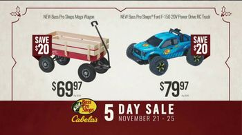 Bass Pro Shops 5 Day Sale TV Spot, 'Camping Scare: Mega Wagons & RC Trucks' - Thumbnail 6