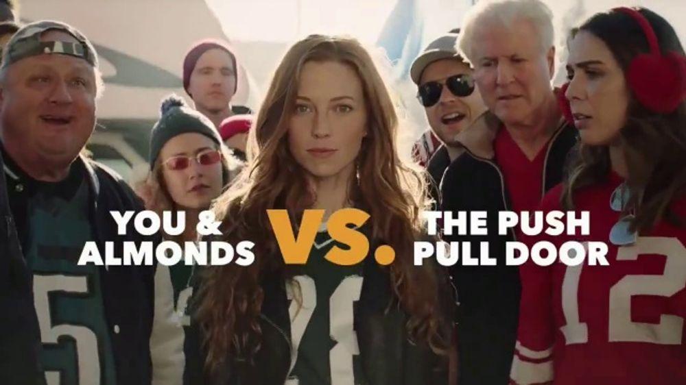 California Almonds TV Commercial, 'Push-Pull Door'