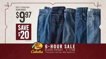 Bass Pro Shops Black Friday 6-Hour Sale TV Spot, 'Big Trophy: 5-Pocket Jeans & Grills' - Thumbnail 6