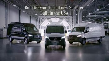 2019 Mercedes-Benz Sprinter TV Spot, 'If I Built a Van: SC' [T1] - Thumbnail 9