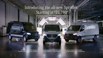 2019 Mercedes-Benz Sprinter TV Spot, 'If I Built a Van: SC' [T1] - Thumbnail 8