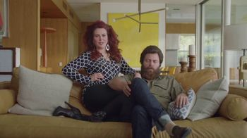 Sling TV Spot, 'Stretch: Roku Express' Featuring Nick Offerman, Megan Mullally - Thumbnail 1