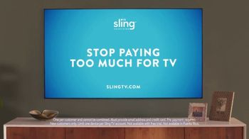 Sling TV Spot, 'Stretch: Roku Express' Featuring Nick Offerman, Megan Mullally - Thumbnail 10