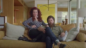 Sling TV Spot, 'Stretch: Roku Express' Featuring Nick Offerman, Megan Mullally - Thumbnail 2