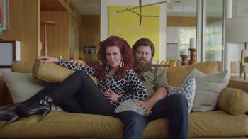 Sling TV Spot, 'Stretch: Roku Express' Featuring Nick Offerman, Megan Mullally - Thumbnail 8