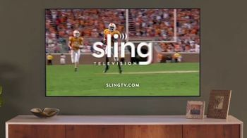 Sling TV Spot, 'Stretch: Roku Express' Featuring Nick Offerman, Megan Mullally - Thumbnail 9