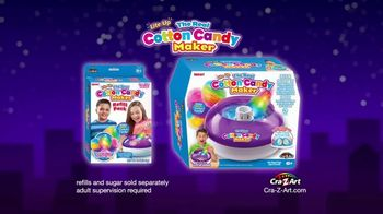 Cra-Z-Art The Real Cotton Candy Maker TV Spot, 'Cotton Candy Fun' - Thumbnail 10
