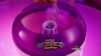 Cra-Z-Art The Real Cotton Candy Maker TV Spot, 'Cotton Candy Fun' - Thumbnail 7