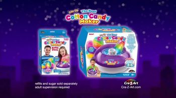 Cra-Z-Art The Real Cotton Candy Maker TV Spot, 'Cotton Candy Fun' - Thumbnail 9