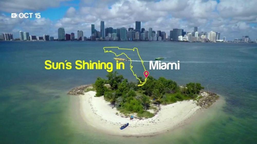 Visit Florida TV Commercial, 'Sun's Shining in Florida'