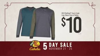 Bass Pro Shops 5 Day Sale TV Spot, 'Shirts, Boots and Jackets' - Thumbnail 6