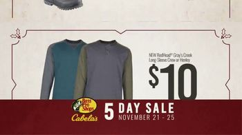 Bass Pro Shops 5 Day Sale TV Spot, 'Shirts, Boots and Jackets' - Thumbnail 7