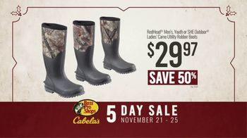 Bass Pro Shops 5 Day Sale TV Spot, 'Shirts, Boots and Jackets' - Thumbnail 8