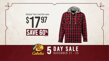 Bass Pro Shops 5 Day Sale TV Spot, 'Shirts, Boots and Jackets' - Thumbnail 9